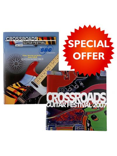 2004 & 2007 Crossroads Guitar Festival Programs Bundle