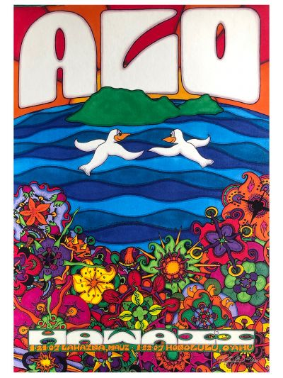 "Ryan Kerrigan - ""Hawaii Tour"" Maui/Oahu 1/21-22/07 Poster - Signed/Numbered by Artist"