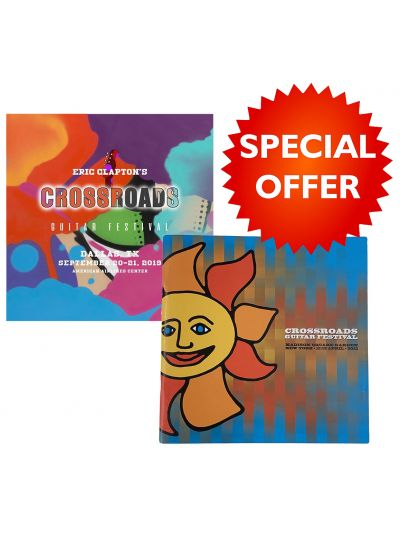 2013 & 2019 Crossroads Guitar Festival Programs Bundle