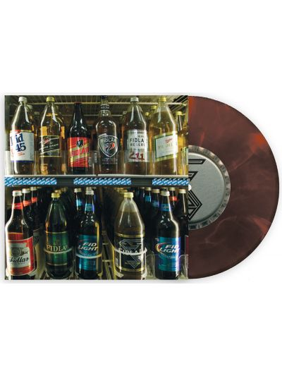 "FIDLAR - Limited Edition 40oz. On Repeat/West Coast 7"" - Brown Bottle"