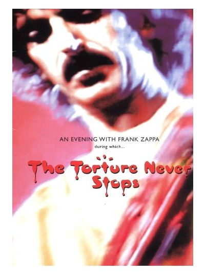 The Torture Never Stops DVD (Honker Home Video)
