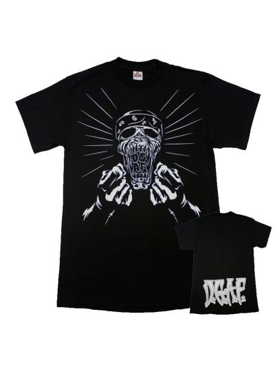 DGAF - Angry Zombie T-Shirt