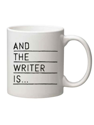And The Writer Is... Coffee Mug