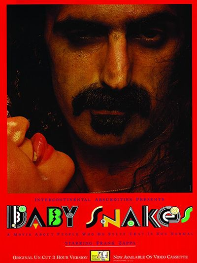 Vintage Baby Snakes Poster