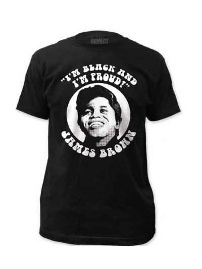 James Brown - Black and Proud T-Shirt