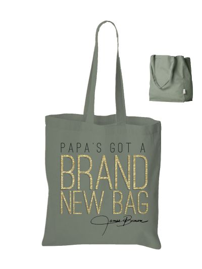 James Brown - Brand New Tote Bag