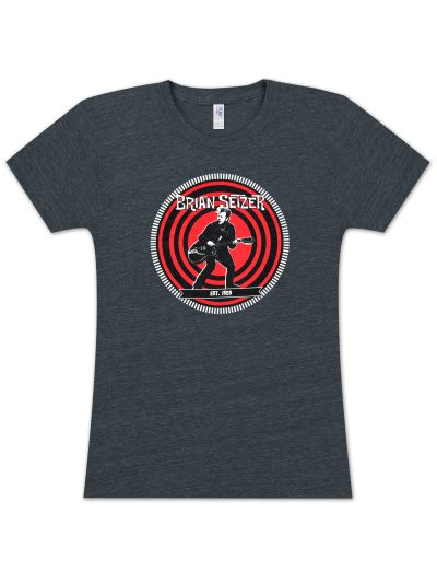 Brian Setzer Orchestra - Est. in 1959 Ladies' T-Shirt