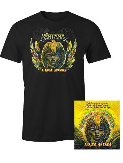 Santana - Africa Speaks CD & T-Shirt Package
