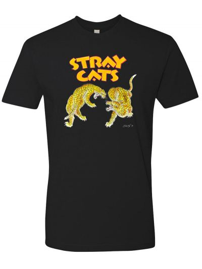 Stray Cats - Cheetah T-Shirt