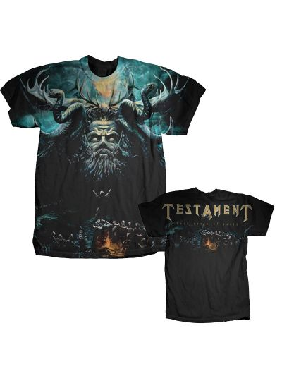 Testament - Dark Roots of Earth - Limited Edition Sublimation Print T-Shirt
