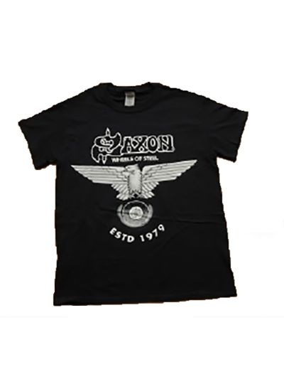 Saxon - Wheels of Steel Tee - Black