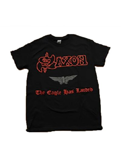 Saxon - Eagle Has Landed Tee - Black