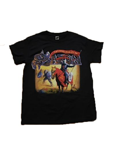 Saxon - Carrere Years Tee - Black