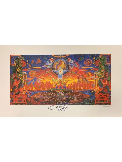 Santana Embrace Your Absoluteness Lithograph