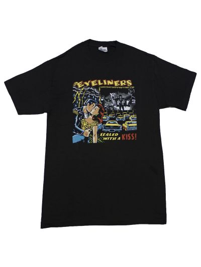 The Eyeliners Sealed with a Kiss 100% Cotton Short Sleeve Tee