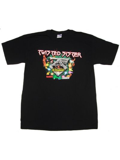 Twisted Sister - 2009 Twisted Christmas Tour T-Shirt