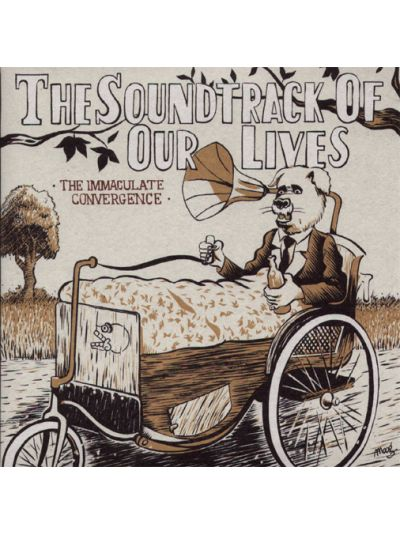 The Soundtrack Of Our Lives - The Immaculate Convergence Vinyl 7""