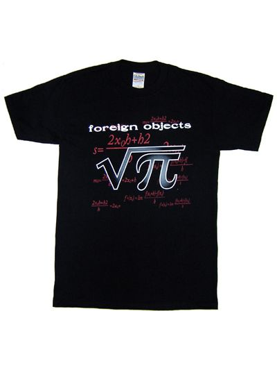 Foreign Objects - Album Cover T-Shirt