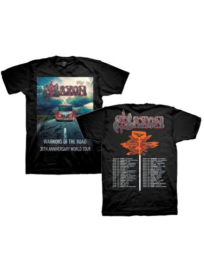Saxon - Warriors of the Road 35th Anniversary World Tour