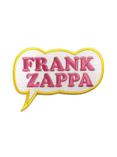 Embroidered Frank Zappa Patch