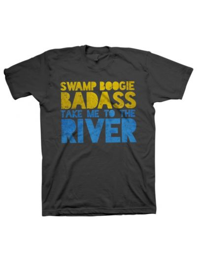 Take Me To The River - Swamp Boogie Badass T-Shirt - Heavy Metal