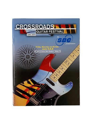 2004 Crossroads Guitar Festival Program