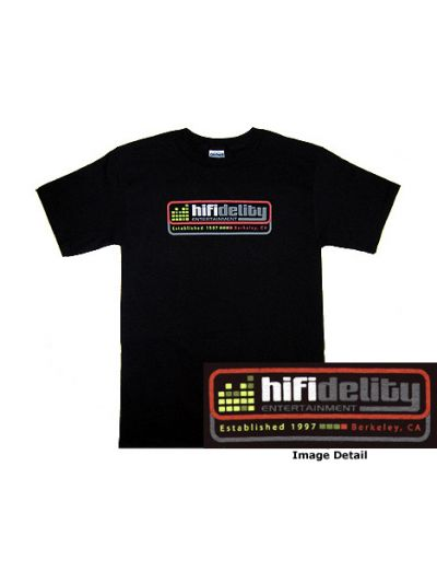 Hi Fidelity Entertainment: Full Logo T-Shirt