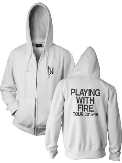 Jennifer Nettles - Playing With Fire Full Zip Hoodie