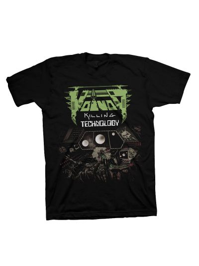 Voivod- Killing Technology Short Short Sleeve T-Shirt