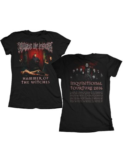Cradle of Filth - Juniors Hammer of the Witches Tour 2016 T-Shirt