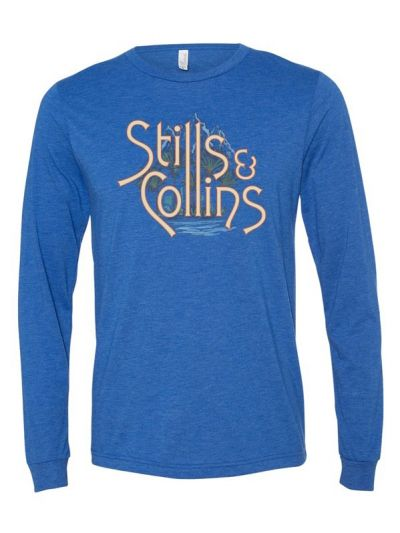 Stills & Collins - Mountain and Sea Long Sleeve T-Shirt