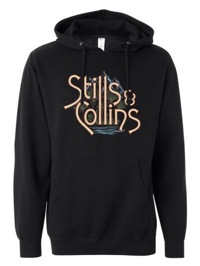 Stills & Collins - Mountain and Sea Pullover Hoodie
