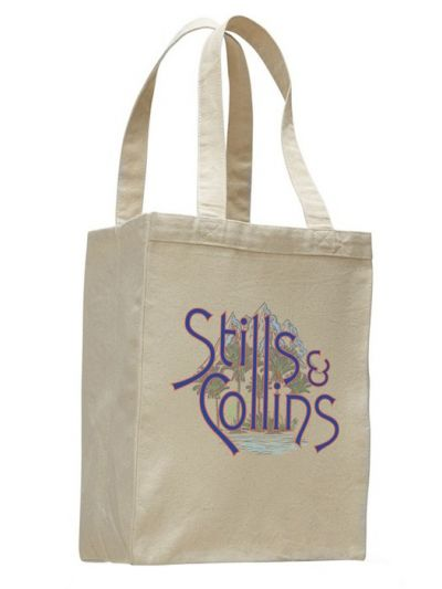 Stills & Collins - Mountain and Sea Tote Bag