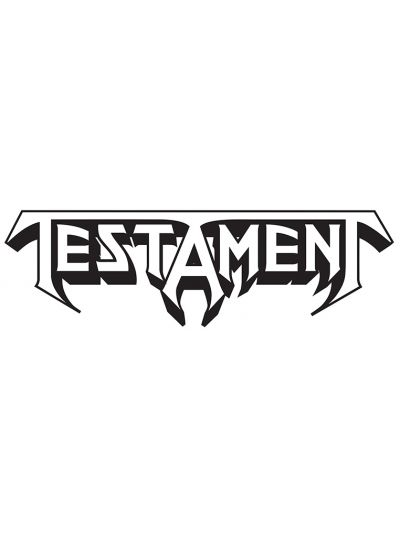 Testament - Logo Die-Cut Sticker