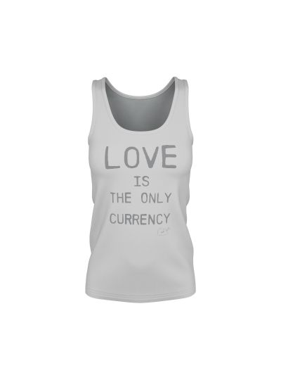 Santana - Love Is The Only Currency Ladies Tank Top