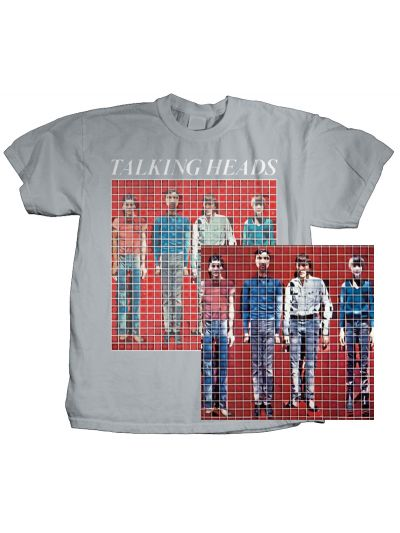 Talking Heads More Songs About Music and Food Tee and Vinyl Bundle