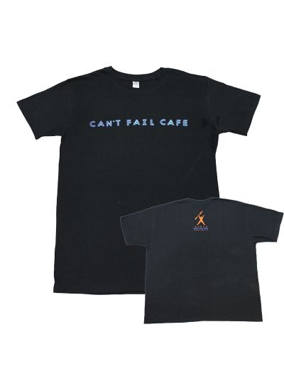 Rudy's Cafe - Neon Can't Fail Cafe T-Shirt