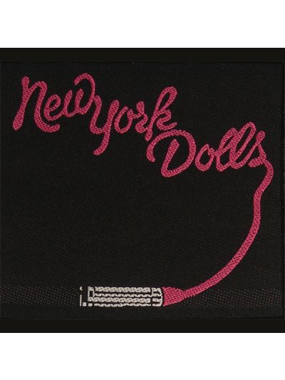 New York Dolls - Lipstick Embroidered Patch