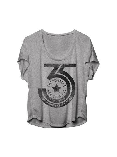 Ladies 35th Anniversary Scoopneck T-Shirt