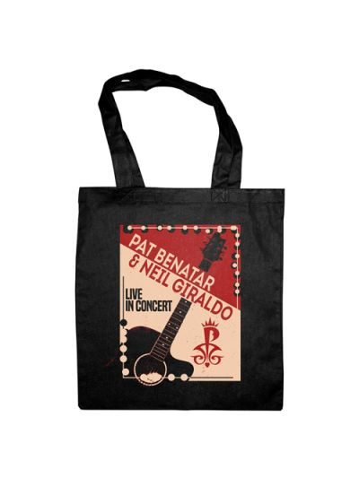 Live in Concert Tote Bag