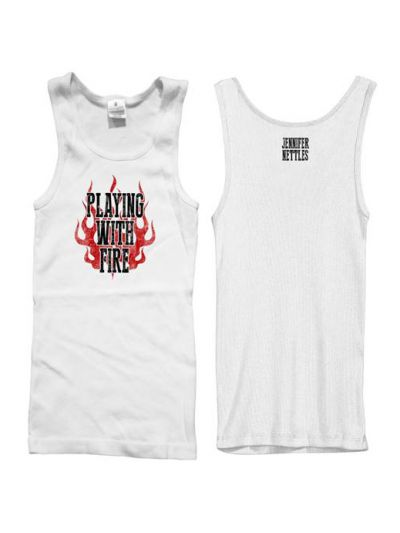 Jennifer Nettles - Playing With Fire Juniors Tank Top