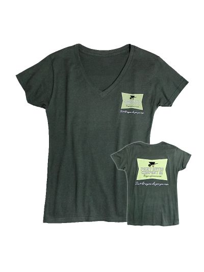 Pt Reyes Compost Co. - Classic Logo Ladies Fine Jersey T-Shirt