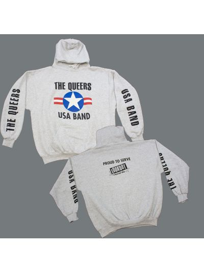 The Queers USA Band Pullover Hoodie