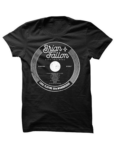 Brian Fallon - Record T-Shirt