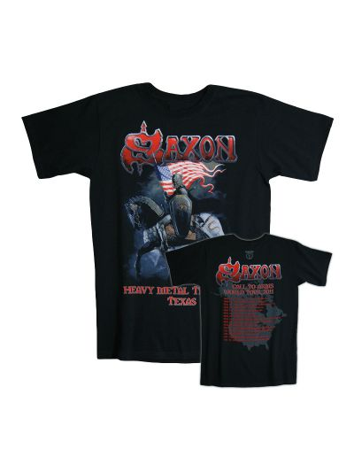Saxon - Heavy Metal Thunder - Texas T-Shirt