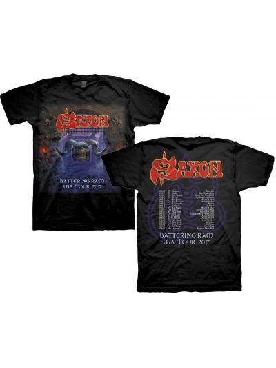 Saxon - Battering Ram 2017 USA Tour T-Shirt