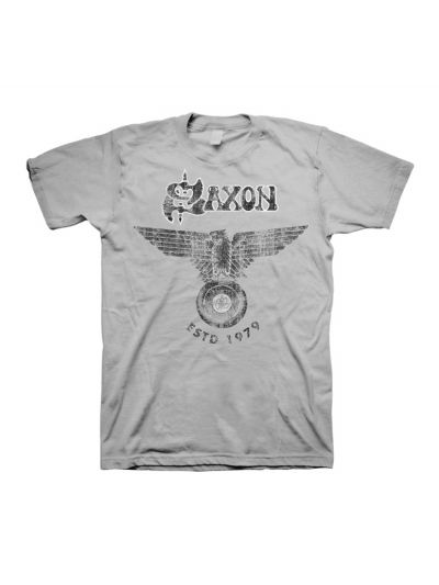 Saxon - Established 1979 T-Shirt
