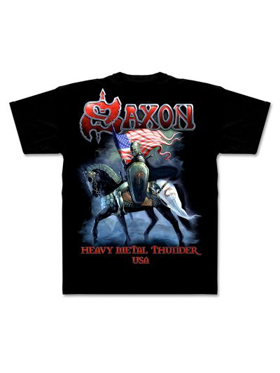 Saxon - Heavy Metal Thunder - USA T-Shirt