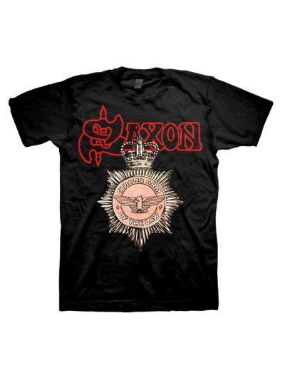 Saxon - Strong Arm of the Law T-Shirt