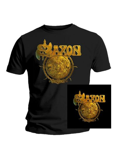 Saxon - Sacrifice CD Package